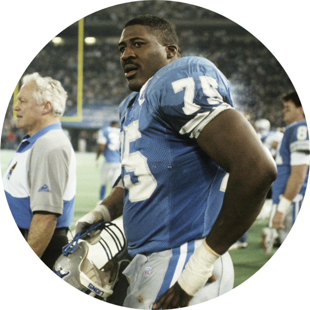 Bikes for big and tall people including professional athletes like Lomas Brown of the Detroit Lions