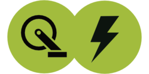 Pedal and Motor Icon